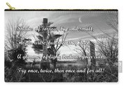 Shades Of Sorrow Carry-all Pouch