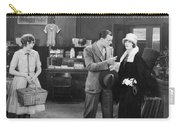 Silent Film Still: Stores Carry-all Pouch
