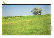 Single Apple Tree In Maine Hay Field Carry-all Pouch