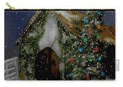 Snowy Christmas Eve Carry-all Pouch