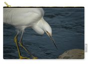 Snowy Egret 8 Carry-all Pouch