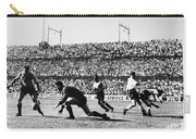 Soccer Match, 1930s Carry-all Pouch