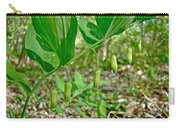Solomon's Seal Wildflower - Polygonatum Commutatum Carry-all Pouch