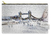 Southbank London Art Carry-all Pouch