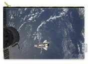 Space Shuttle Endeavour Backdropped Carry-all Pouch