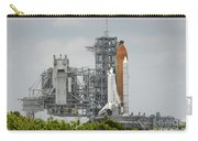Space Shuttle Endeavour On The Launch Carry-all Pouch