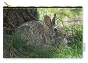 Spring Time Rabbit Carry-all Pouch