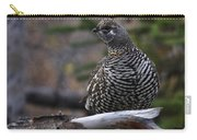 Spruce Grouse Carry-all Pouch