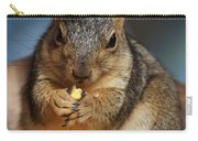 Squirrel Eating Corn Carry-all Pouch