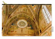 St Francis Basilica   Assisi Italy Carry-all Pouch