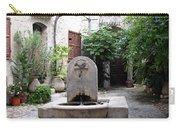 St. Paul De Vence Fountain Carry-all Pouch