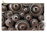 Stack Of Batteries Carry-all Pouch by Carlos Caetano