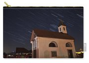 Star Trails Behind Vodice Chapel Carry-all Pouch