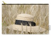 Straw Hat Carry-all Pouch