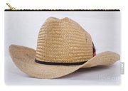 Straw Weave Cowboy Hat Carry-all Pouch