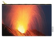 Strombolian Eruption Of Stromboli Carry-all Pouch