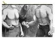 Sullivan Vs. Kilrain, 1889 Carry-all Pouch