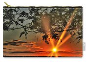 Summers Breeze Sunsets Through Tress Carry-all Pouch