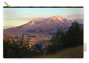 Sun Going Down At Mt. St. Helens Carry-all Pouch