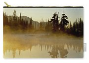 Sunlight On An Alpine Lake Carry-all Pouch