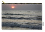 Sunrise Over Arabian Sea Hawf Protected Carry-all Pouch