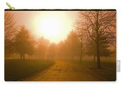 Sunrise Over Country Road, Oregon Carry-all Pouch