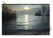 Sunset Over An Alpine Lake Carry-all Pouch