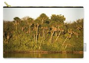 Sunset Palm Trees Carry-all Pouch