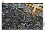Sunset Please On The Rocks Carry-all Pouch
