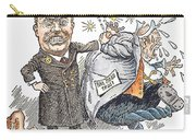 T. Roosevelt Cartoon Carry-all Pouch by Granger