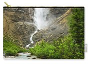 Takakkaw Falls Waterfall In Yoho National Park Canada Carry-all Pouch
