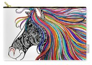 Tattooed Horse Carry-all Pouch