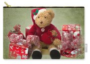 Teddy At Christmas Carry-all Pouch