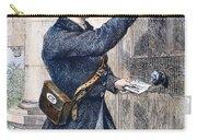Telegraph Messenger, 1869 Carry-all Pouch