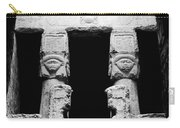 Temple Of Hathor Carry-all Pouch by Photo Researchers, Inc.