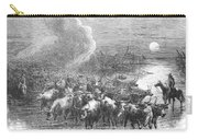 Texas: Cattle Drive, 1867 Carry-all Pouch