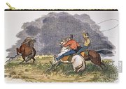 Texas Cowboys, C1850 Carry-all Pouch