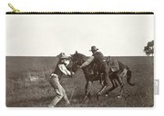 Texas: Cowboys, C1908 Carry-all Pouch