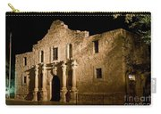 The Alamo At Night Carry-all Pouch