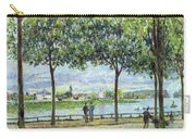 The Avenue Of Chestnut Trees Carry-all Pouch by Alfred Sisley