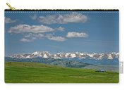 The Bridger Mountains Carry-all Pouch