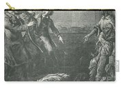The Capture Of Margaret Garner Carry-all Pouch