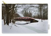 The Delaware Canal At Washington's Crossing Carry-all Pouch by Bill Cannon