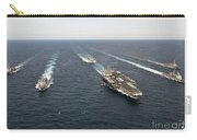 The Enterprise Carrier Strike Group Carry-all Pouch by Stocktrek Images