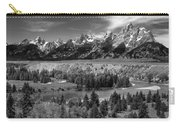 The Grand Tetons And The Snake River Carry-all Pouch
