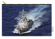 The Guided Missile Destroyer Uss Nitze Carry-all Pouch