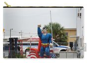 The Man Of Steel On I 95 Carry-all Pouch