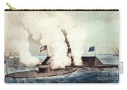 The Monitor And The Merrimac, 1862 Carry-all Pouch