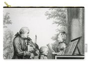 The Mozart Family On Tour, 1763 Carry-all Pouch
