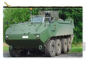 The Piranha IIic Of The Belgian Army Carry-all Pouch by Luc De Jaeger